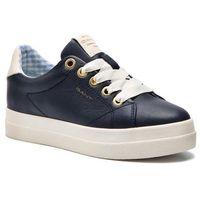 Sneakersy GANT - Aurora 18531436 Marine G69, kolor niebieski