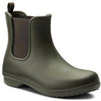 Kalosze CROCS - Freesail Chelsea Boot W 204630 Dark Camo Green