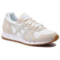 Sneakersy ASICS - TIGER Gel-Movimentum 1192A102 White/Glacier Grey 100, kolor beżowy