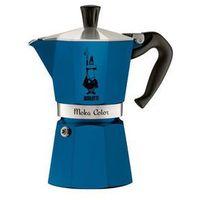 Bialetti / kawiarki / mokka induction Bialetti moka color kawiarka 6 filiżanek 6 tz niebieska