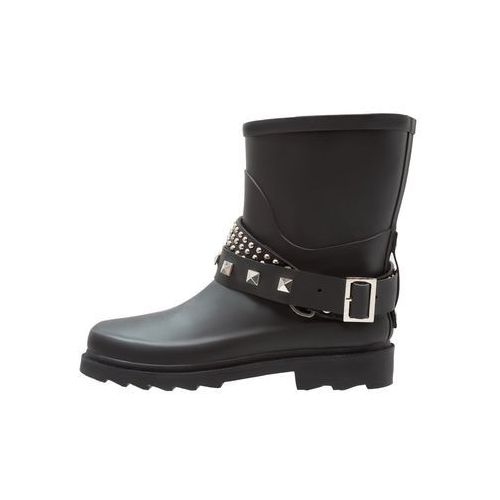 Cream MARY RAINBOOT Kalosze pitch black, kolor czarny