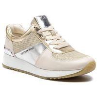 Sneakersy MICHAEL MICHAEL KORS - Allie Trainer 43R9ALFS2D Wht/Gld/Chmp