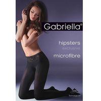 Rajstopy Gabriella Hipsters Exclusive 631 MF 50 den 4-L, czarny/nero, Gabriella, kolor czarny