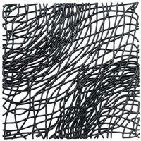 Panel dekoracyjny silk - czarny - czarny marki Koziol