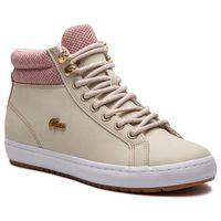 Sneakersy - straightset insulatec 3182caw 7-36caw00457f8 nat/wht marki Lacoste