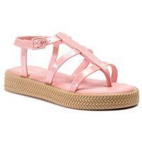 Melissa Sandały - caribe verao platform 32481 pink/beige 51430