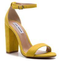 Steve madden Sandały - carrson sm11000008-03002-705 yellow suede
