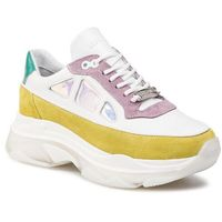 Sneakersy BRONX - 66244-AC BX 1525 Lime/White/Lilac 3002