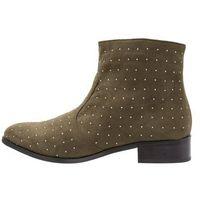 Vero Moda VMAMIE BOOT Ankle boot dark olive, 36-40