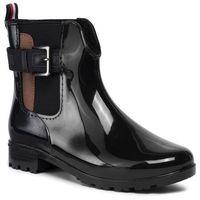 Kalosze TOM TAILOR - 799230600 Black, kolor czarny