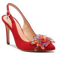 Sandały SOLO FEMME - 34297-A8-G13/000-05-00 Czerwony, w 5 rozmiarach