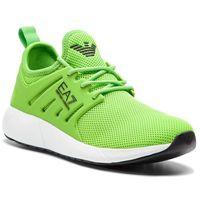 Sneakersy EA7 EMPORIO ARMANI - X8X024 XCC06 00228 Acid Fluo, kolor zielony