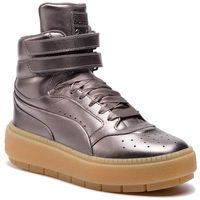 Sneakersy - platform tracestmt luxy wns 366996 01 quiet shade/quiet shade, Puma