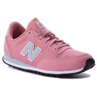 New balance Sneakersy - wl410dpg różowy