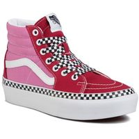 Sneakersy VANS - Sk8-Hi Platform 2 VN0A3TKNWVX1 (2-Tone) Chlepepr/Fchsiapnk, kolor różowy