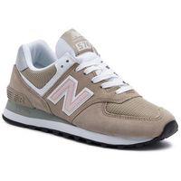 Sneakersy - wl574btb beżowy, New balance