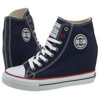 Big star Sneakersy granatowe u274902 (bi5-b)