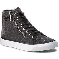 Sneakersy - x3z017 zl487 k001 black/silver, Emporio armani, 35-41