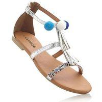 Sandały srebrny marki Bonprix