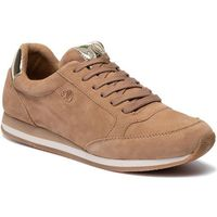 Sneakersy S.OLIVER - 5-23640-23 Sand Suede 404, kolor brązowy
