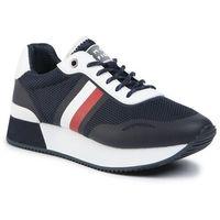 Sneakersy - tommy mesh city sneaker fw0fw04606 desert sky dw5, Tommy hilfiger, 36-42