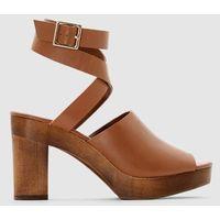 Skórzane sandały marki La redoute collections
