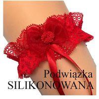 Enjoy Podwiązka florence a silikon rozmiar: uniwersalny, kolor: czerwony, enjoy