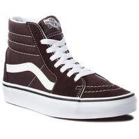Sneakersy - sk8-hi vn0a38geu5z chocolate torte/true whit marki Vans