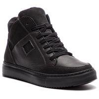 Sneakersy NAGABA - 013 Filc Czarny, kolor czarny
