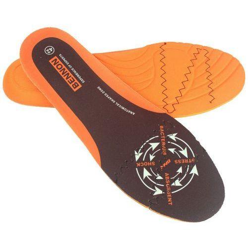 Z-style cz Wkładki do obuwia bennon absorba plus orange (d41201)