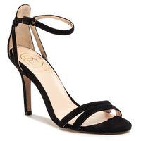 Sandały BALDOWSKI - D03054-3436-008 Zamsz Czarny, w 7 rozmiarach