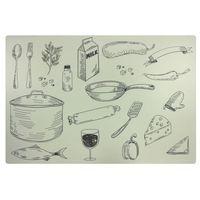 Podkładka na stół 44 x 28 5 cm cooking (5908262407580)