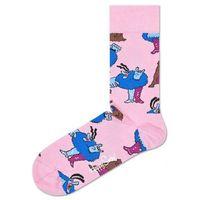 Happy Socks Chief Blue Meanie & Jeremy Skarpetki Różowy 36-40 (7333102075205)