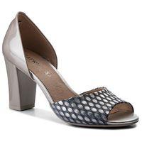 Sandały - 9-28316-20 lt grey multi 207 marki Caprice