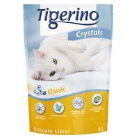 crystals żwirek silikonowy - 6 x 5 l (ok. 12,6 kg) marki Tigerino