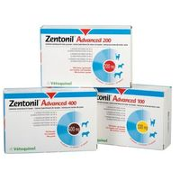 ZENTONIL ADVANCED 100 mg 30 tabl.