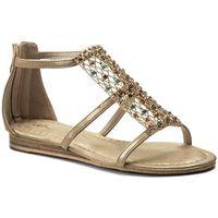 Sandały ALMA EN PENA - V18516 Oporto Gold, kolor beżowy
