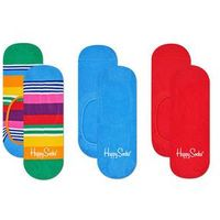 Happy socks - stopki multi stripe (3-pak)