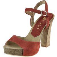 Sandały Nessi 18340 - Burgund 19, kolor fioletowy