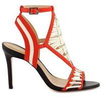 Sandały ze skóry Amili