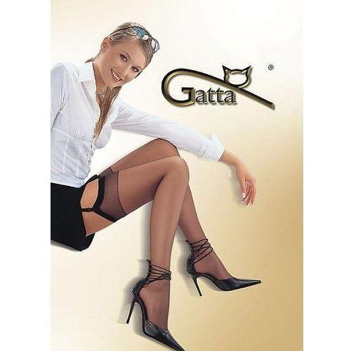 Pończochy Gatta Sally do paska lycra 15 den 3/4, beżowy/daino, Gatta, do