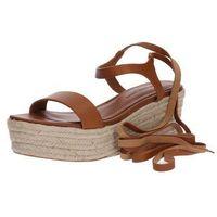 sandały 'franki-espadrilles-casual' jasnobrązowy marki Polo ralph lauren
