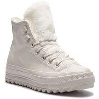 Sneakersy CONVERSE - Ctas Lift Ripple Hi 562423C Vintage White/Vintage White