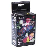 Emos Lampki choinkowe 40 led 4m multikolor zy0811 (8595025395542)