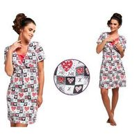 Koszula nocna alicja: fuksja marki Cornette