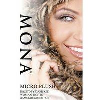 Rajstopy polarowe 200 den micro plush , Mona