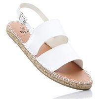 Sandały bonprix biały, w 8 rozmiarach