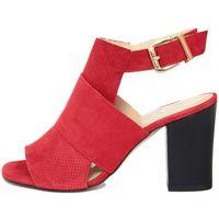 Eye damskie sandały 41 czerwony