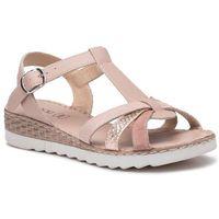 Sandały - h473 pink marki Lasocki
