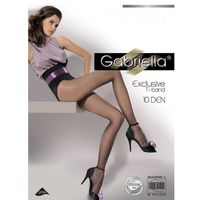 Rajstopy Gabriella Exclusive 10 den ROZMIAR: 4-L, KOLOR: czarny/nero, Gabriella, (240)10104126(37)1